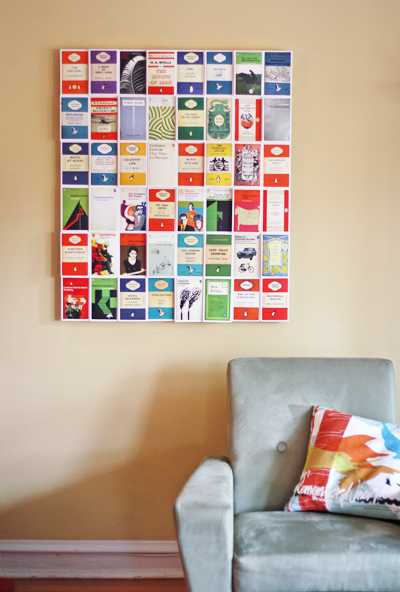 diy postcard wall art