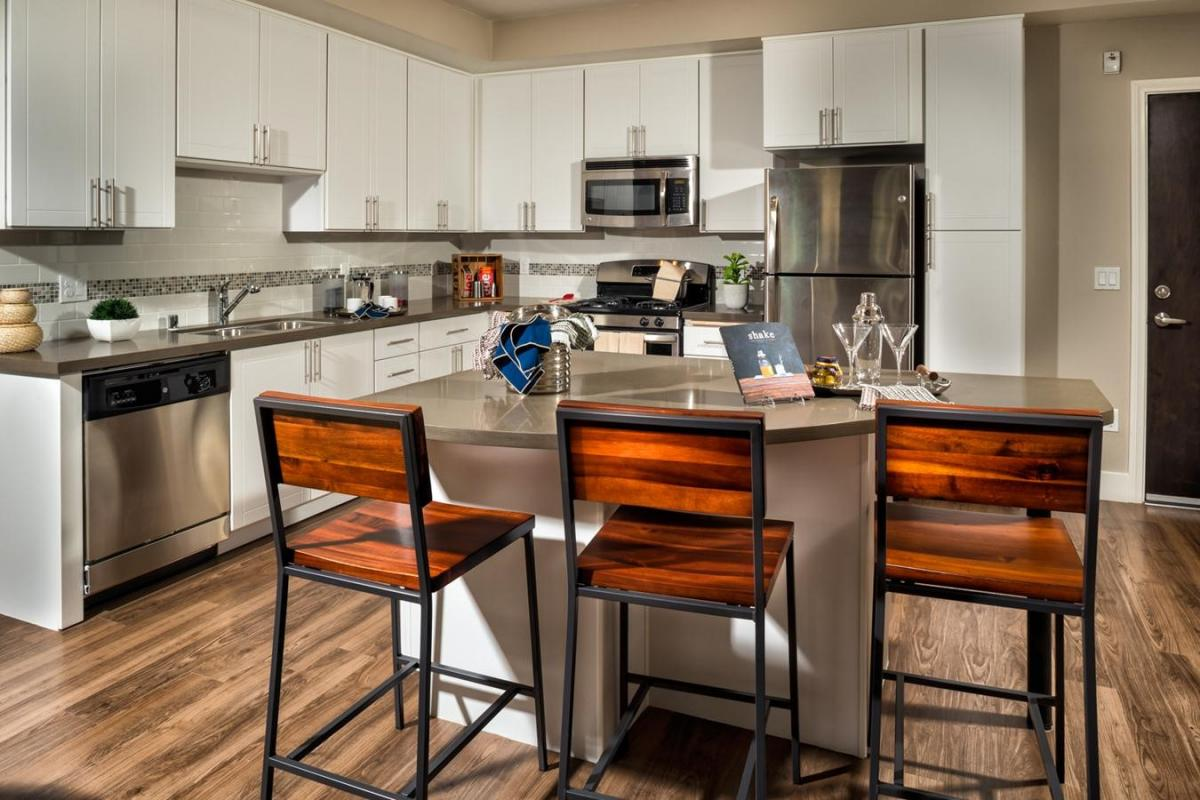 Beau And With Stainless Steel Appliances, Granite Countertops, Custom Cabinetry  And Tiled Backsplashes, The Kitchens In Our San Diego Apartments Are ...