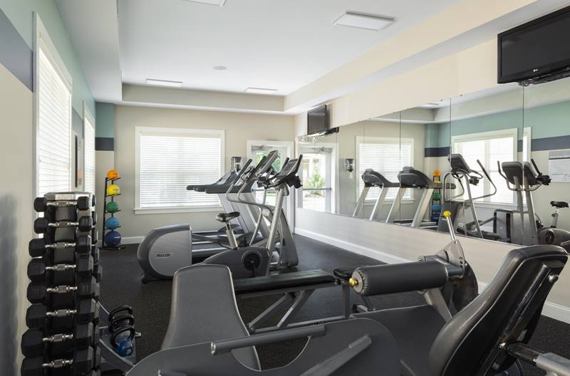 fitness center at Regency Place Apartments