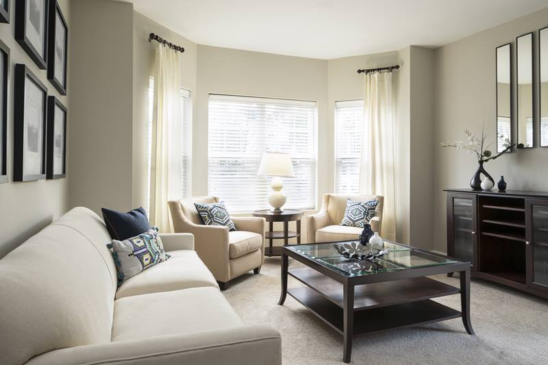 living room at Regency Place Apartments