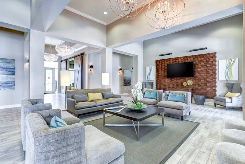 clubhouse at Atlantic at Parkridge Apartments