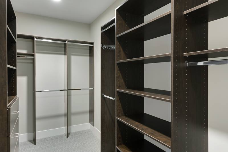 closet at The Lakes Residences