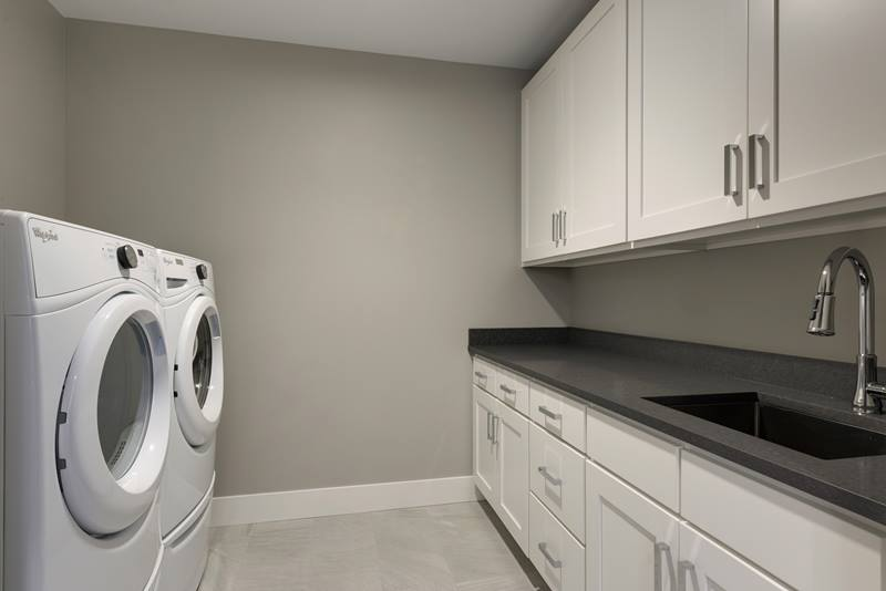 laundry room at The Lakes Residences