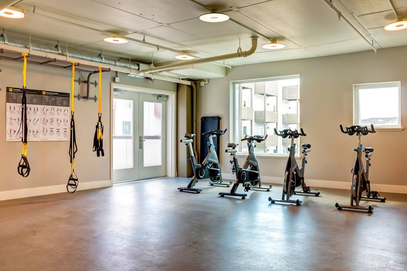 Foundry Commons Apartments Fitness Center