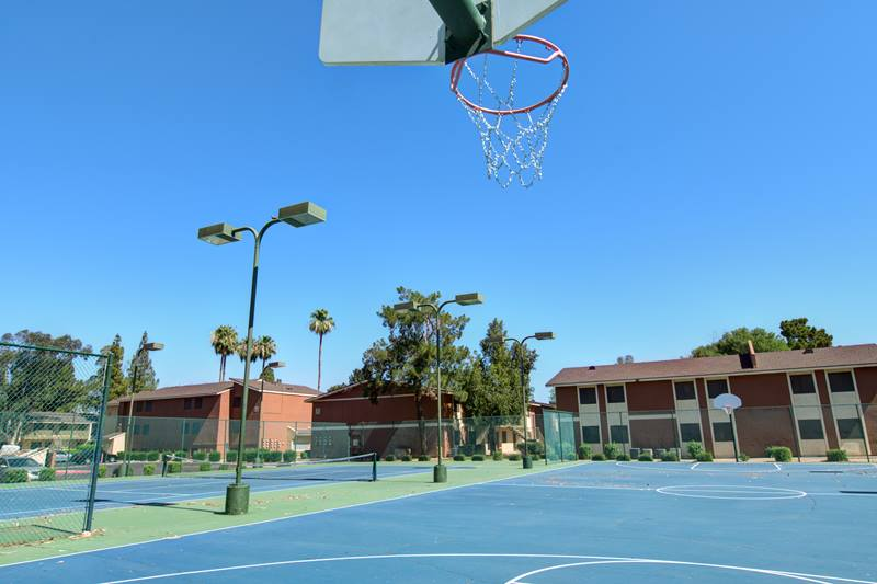 Crossroads Apartments Basketball Court