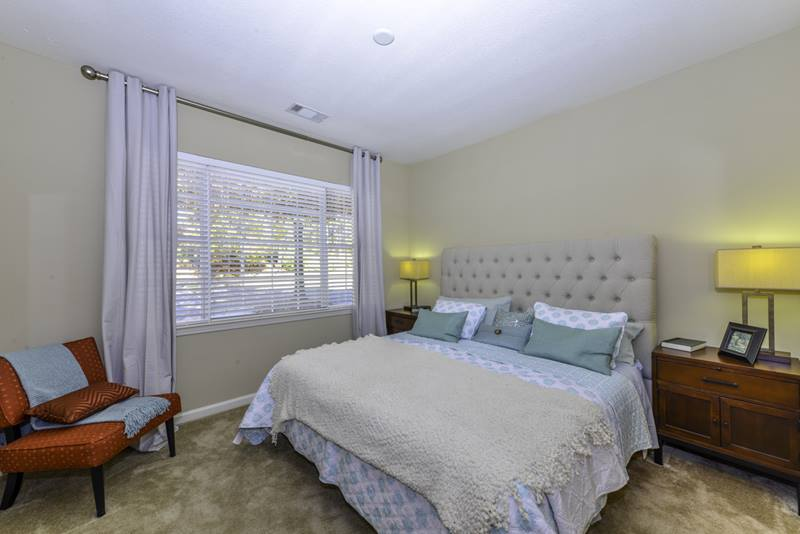 bedroom at Duck Pond at Johns Creek Apartments