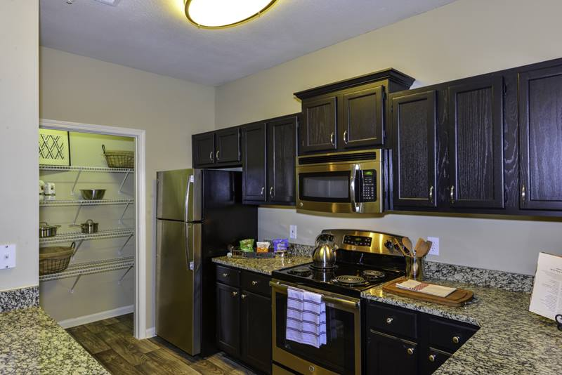 kitchen at Duck Pond at Johns Creek Apartments