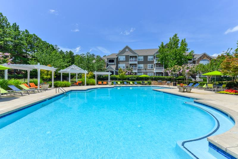 pool at Duck Pond at Johns Creek Apartments