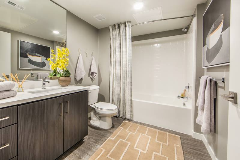 bathroom at Maxfield at Marc San Marcos Apartments