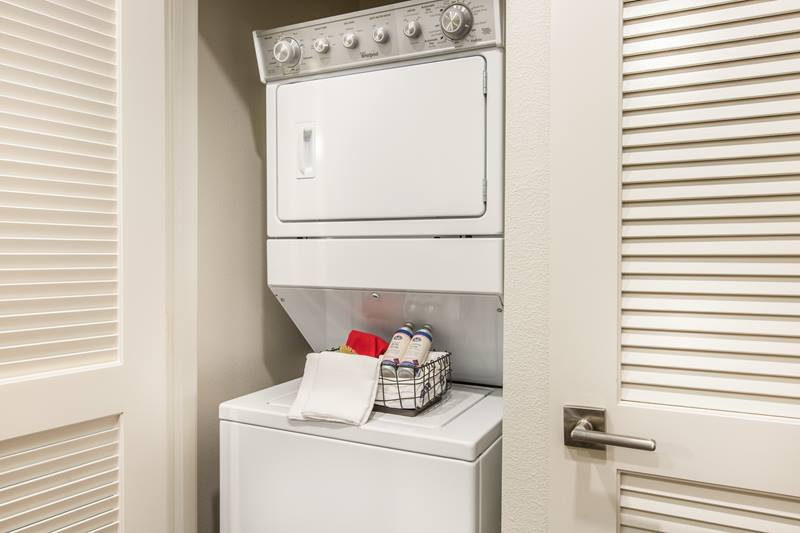 laundry room at Maxfield at Marc San Marcos Apartments