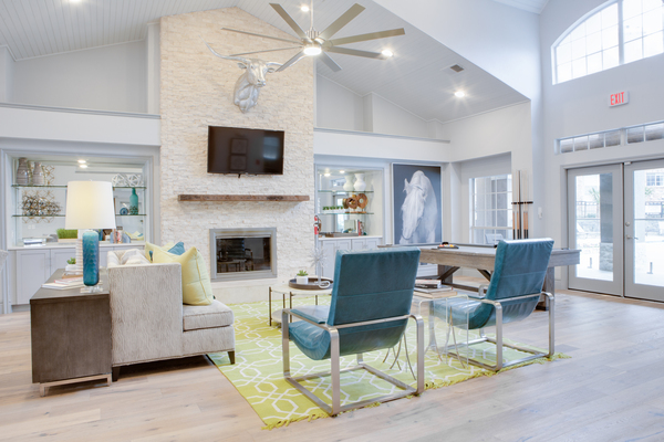clubhouse at The Palmer at Las Colinas Apartments