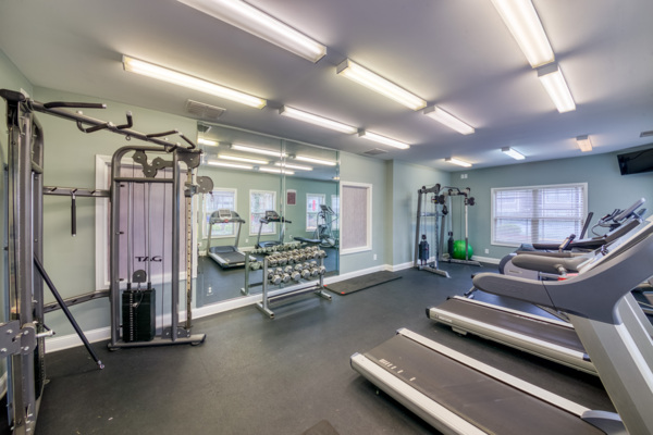 fitness center at Avana Druid Hills Apartments