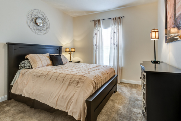 bedroom at Copper Chase at Stones Crossing Apartments