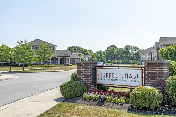 signage at Copper Chase at Stones Crossing Apartments