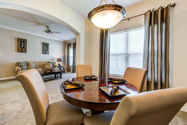 dining room at Copper Chase at Stones Crossing Apartments