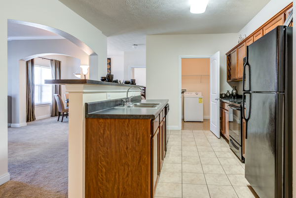 kitchen at Copper Chase at Stones Crossing Apartments