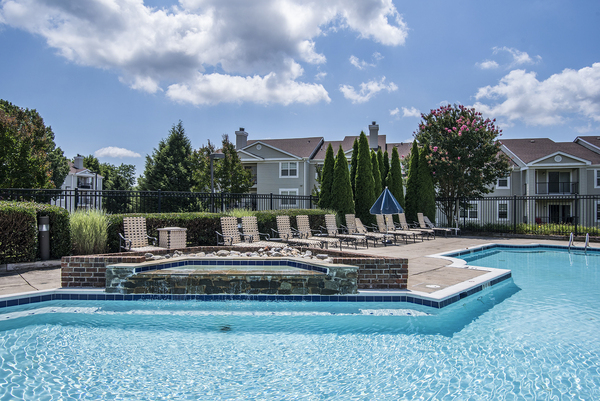pool at Assembly Germantown Apartments