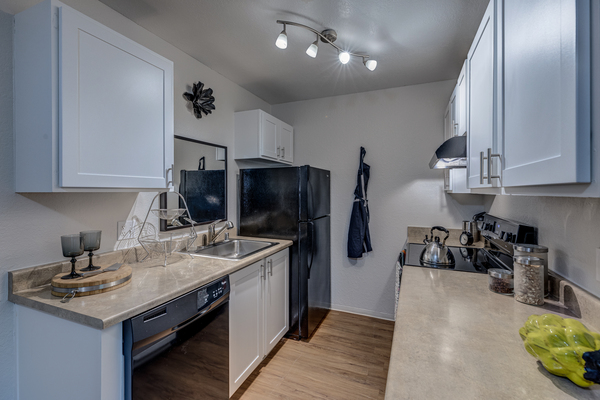 kitchen at The Berkshire Apartments