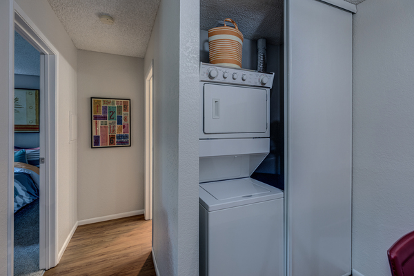 laundry room at The Berkshire Apartments