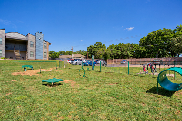 dog park at Bristol Grapevine Apartments