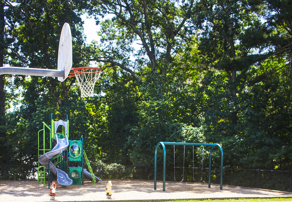 playground at Heritage at Bedford Springs Apartments