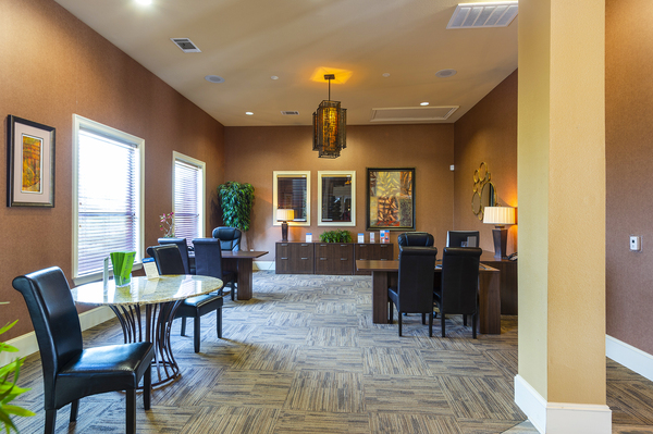leasing office at The Reserve at Fall Creek Apartments