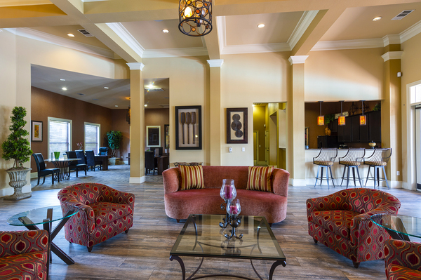 clubhouse at The Reserve at Fall Creek Apartments