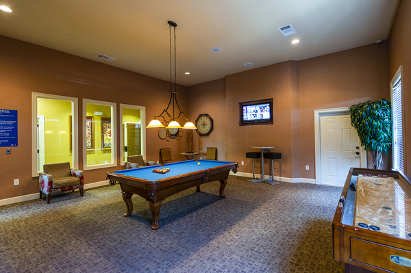 game room at The Reserve at Fall Creek Apartments