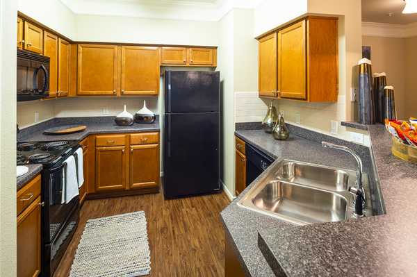 kitchen at The Reserve at Fall Creek Apartments