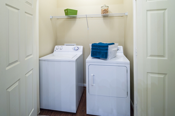 laundry room at The Reserve at Fall Creek Apartments