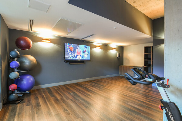 Yoga/Spin Studio at Infinity LoHi Apartments