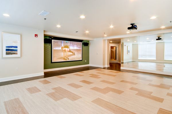 Yoga/Spin Studio at Apex Apartments