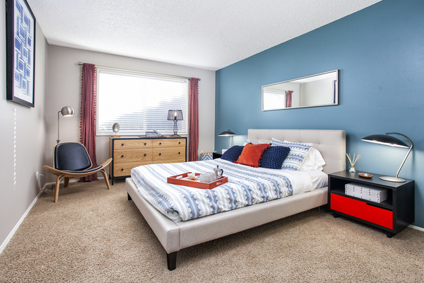 bedroom at Garden Park Apartments