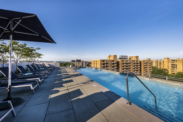 pool at Valo Apartments