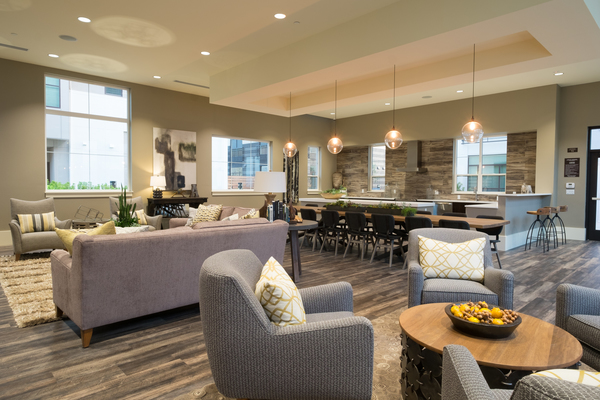 clubhouse at Field House at Bay Meadows Apartments