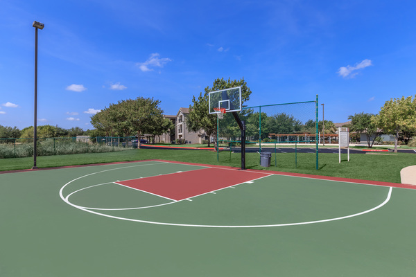 sport court at The Heights