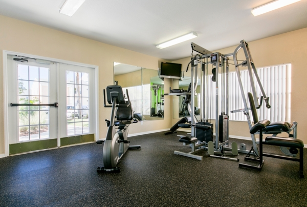 fitness center at Terraces at Lake Mary Apartments