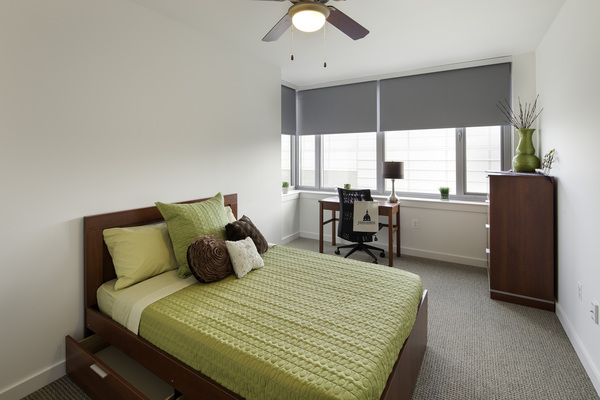 bedroom at 929 Apartments