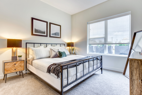 bedroom at The Marke of Elmhurst Apartments