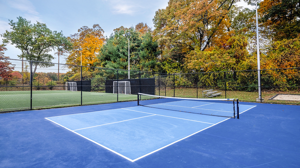 tennis court at Halstead Framingham Apartments