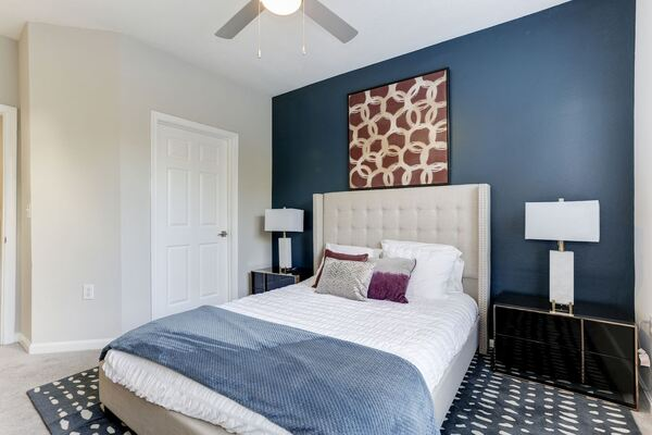 bedroom at Adara Herndon Apartments