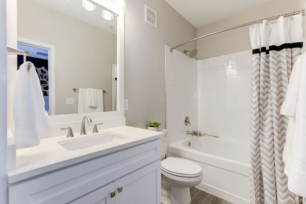 bathroom at Adara Herndon Apartments