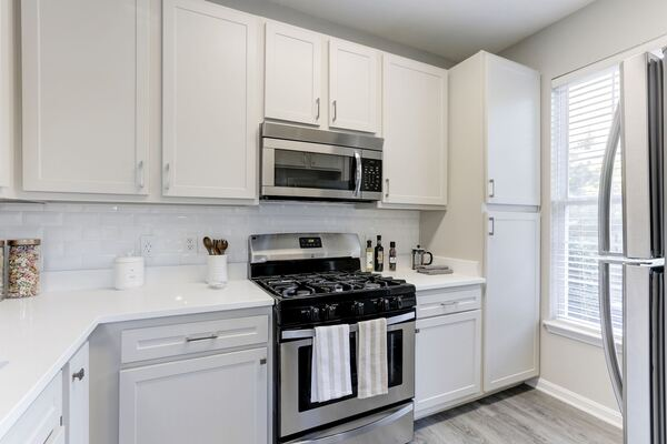 kitchen at Adara Herndon Apartments