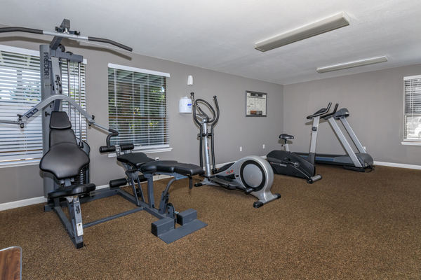 fitness center at Alvista 240 Apartments