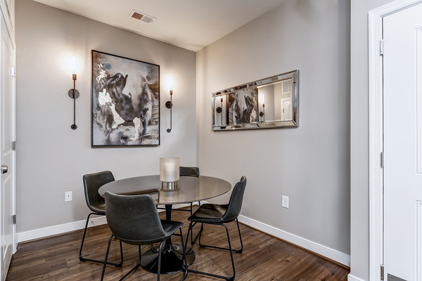 dining room at Paragon at Columbia Overlook Apartments