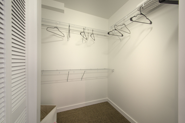 closet at College Town Student Apartments