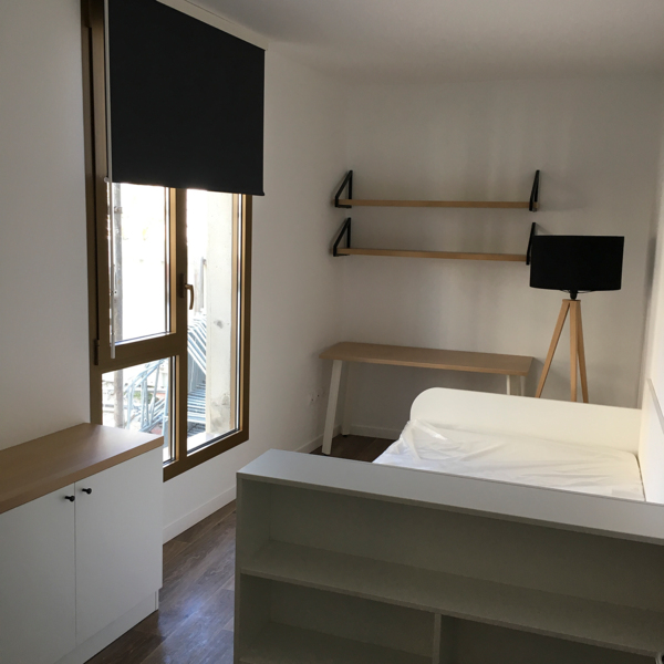 bedroom at Student Village Bagneux Apartments