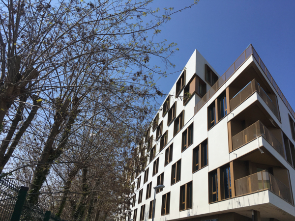 exterior at Student Village Bagneux Apartments