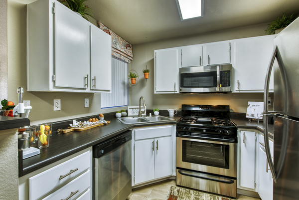 kitchen at Allure at Tempe Apartments