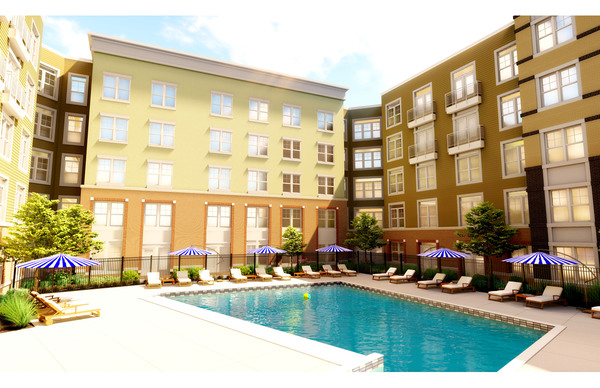 rendering at The Jameson at Kincora Apartments